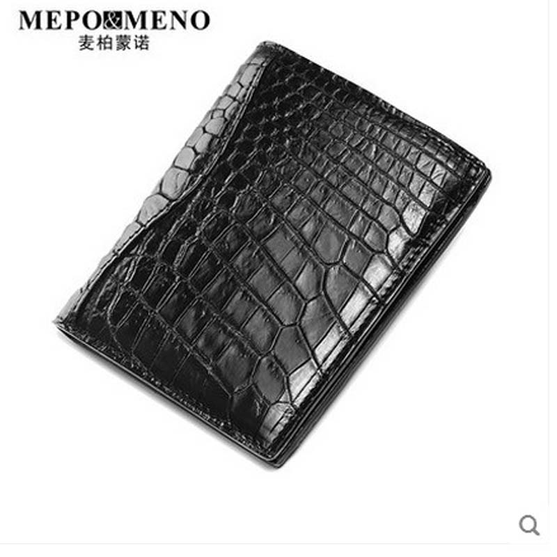 maibomengnuo Authentic crocodile skin Wallet belly belly fashionable contracted men thin money clip upright money maibomengnuo authentic crocodile skin wallet belly belly fashionable contracted men thin money clip upright money