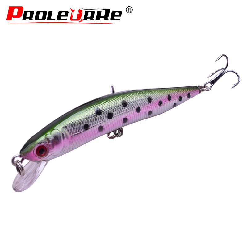 1Pcs Fishing Lures Minnow 10cm 8.3g Hard Bait Wobbler Bass Lure Bass Fishing Accessories Slow Floater Plug Topwater Floating