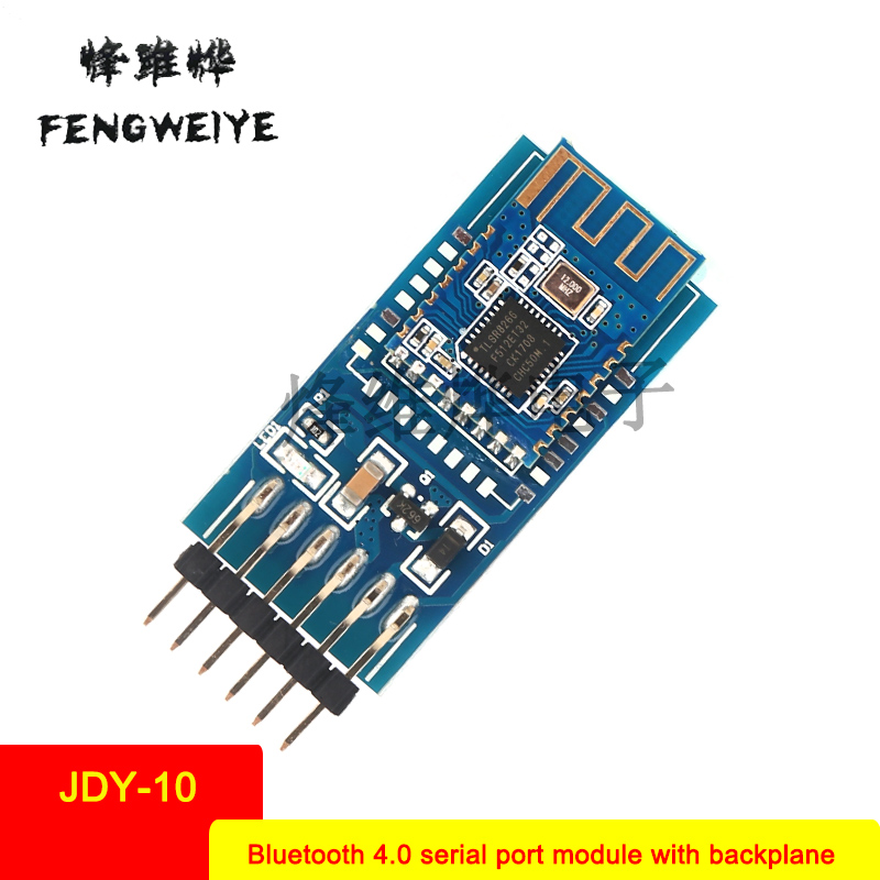 Panel JDY 10 with backplane Bluetooth 4 0 serial port transmission module module BLE compatible CC2541