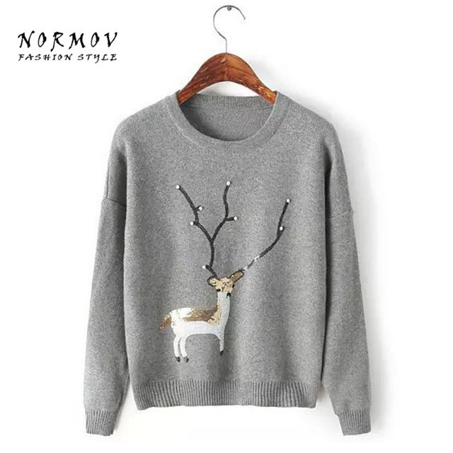 Aliexpress.com : Buy NORMOV Pullover Women cheap winter sweaters ...