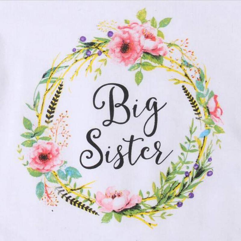 Zomer Baby Kinderen Meisjes Little Big Sister Match Kleding Jumpsuit - Kinderkleding - Foto 6