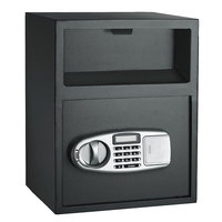 Steel Digital Electronic Safe Box Jewelry Security Keypad Lock Storage Box for Home Office