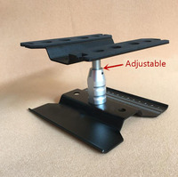 Repair Station Shunting Platform Adjustable Maintenance Display Stand for 1/10 RC Car Model TRX4 AXIAL SCX10 D90