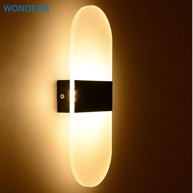Moderne Applique Mur Led Lampe 3W6W 8 W Chambre Led De Chevet Cage D