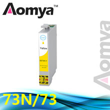 T0734N 73N T0734 Compatibel Inktpatroon Voor Epson Stylus CX7300 CX8300 TX210 C79 C90 CX3900 CX3905 CX4900 CX4905 Printer(China)