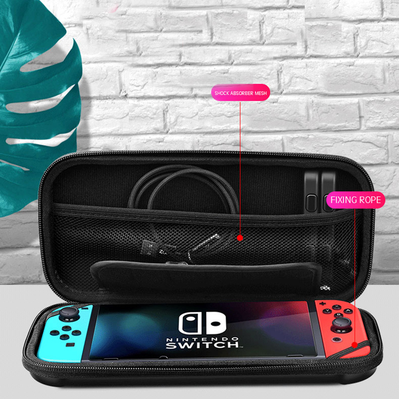 For Nintend Switch Storage Bag EVA waterproof Protective Hard Case Travel Carrying Game Console Handbag for Nintendo Switch Case