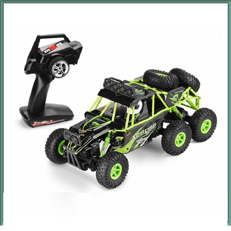 Camion d'escalade de véhicule tout-terrain de chenille de voiture d'escalade électrique de 1/18 6WD avec le lumière LED