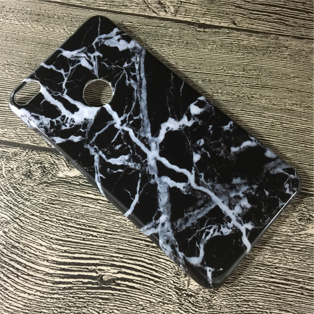 sale retailer cd5ab 45128 US $5.2 34% OFF|Marble Pattern Hard PC Case for huawei honor 8 lite Case  Classic Black White Granite Stone Cover Cases for huawei honor 8 lite-in ...