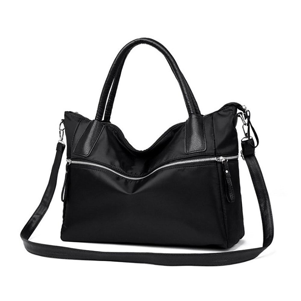 HandBags Women' s bag Simple Fashion Nylon waterproof portable big bag large capacity shoulder bags Messenger bags A1