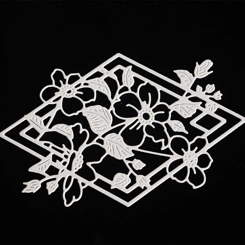 Troqueles De Corte Dies Flor De La Estrella De Metal De Estampado De Moldes Plantillas Plantilla Para La Tarjeta De /álbum De Recortes Y Arte De DIY