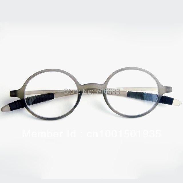 013ce7c6f8 TR 90 Round ultra light Grey Men Eyeglass Frame Reading glasses Vintage  Retro Magnifying Reader For Near Strength +1 +1.0 +1.00-in Reading Glasses  from ...