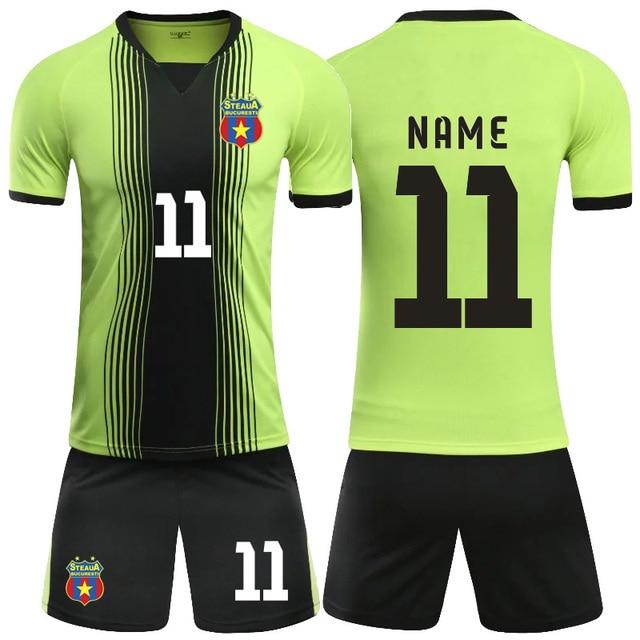 factory authentic 1372b 28ec1 US $15.92 |2018 custom paintless men & kids soccer training jersey set  survetement football shirt short sportswear Futbol Training Uniforms-in  Soccer ...
