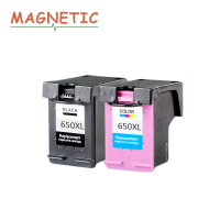 2Pcs 650xl For HP Deskjet 1015 1515 2515 2545 2645 3515 4645 Printer Cartridge Ink High