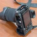 Алюминиевый Быстрый Диск Выключения Рукоятки Профессиональный Штатив Глава 1/4 Винт 38 мм Крепление для SONY A7/A7R DSLR камера