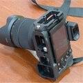 Alumínio Placa de Liberação Rápida de Aperto de Mão Profissional Cabeça do Tripé 1/4 Parafuso 38mm de Montagem para SONY/A7 A7R DSLR câmera