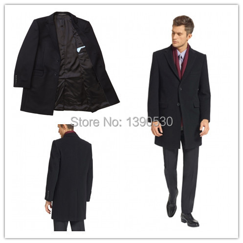 High Quality British Style Winter Wool Coat for Men-Buy Cheap ...