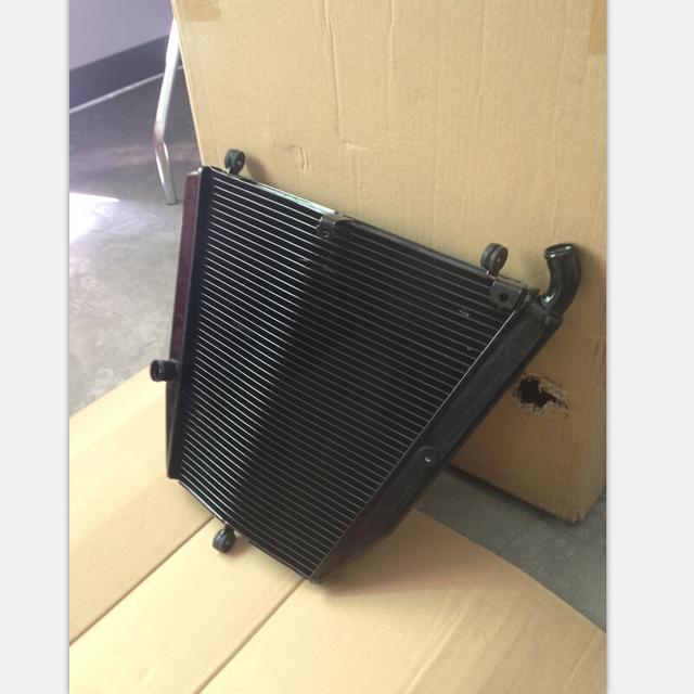 De refrigeración del radiador de aluminio de la motocicleta para honda cbr1000rr 2006-2007 cbr1000 rr (01-137) motor refrigerador parte accesorios de color negro