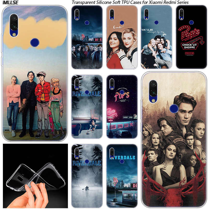 TV Southside Serpents Riverdale Soft Silicone Case for Xiaomi Redmi 7 GO S2  5 7A 5Plus 6 6A K20 Note 4 4X 5 6 7 Pro Cover