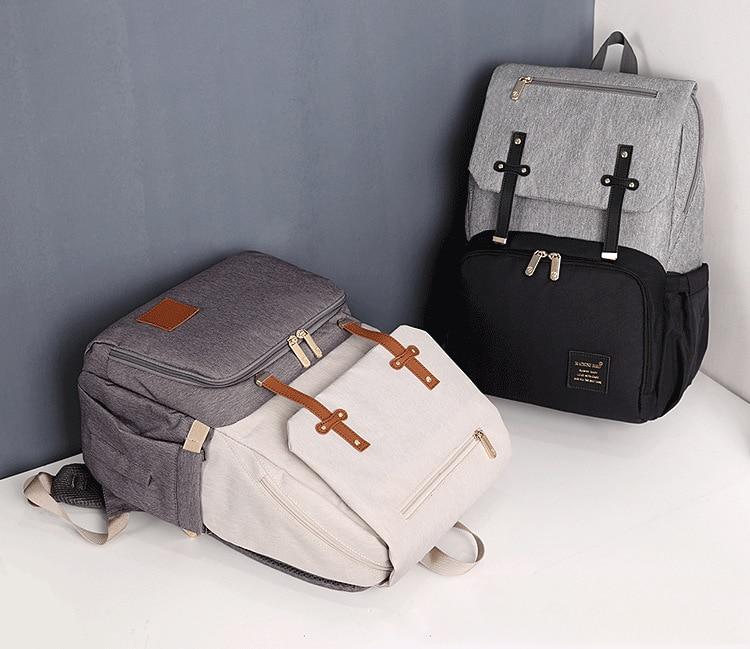 USB Waterproof Stroller Diaper backpack for mom Maternity Nappy Women Travel Infant Multifunction Baby Bag Insulation Nursing
