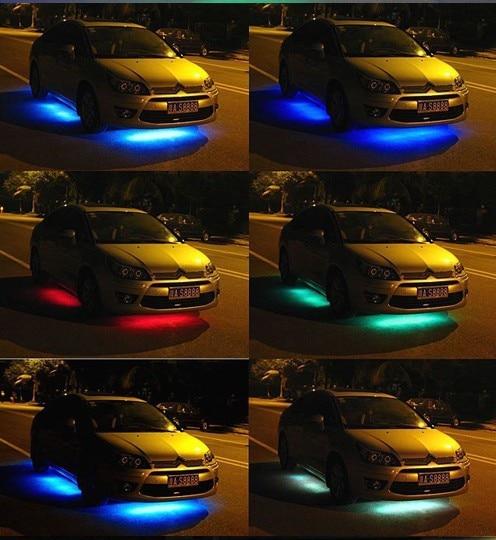 led verlichting onder de auto