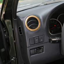 SHINEKA Car Styling AC Vent Air Conditioner Outlet Decorative Ring for Suzuki Jimny