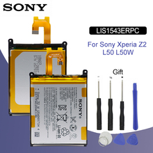 SONY Original Phone Battery LIS1543ERPC 3200mAh For Sony Xperia Z2 L50T D6502 D6503 L50 L50W L50U Replacement Batteries + Tools