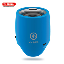 YK Bluetooth Speaker Portable Wireless Speakers Musical Audio Hands-free Subwoofer Loudspeakers For Phone With Mic TF Support FM