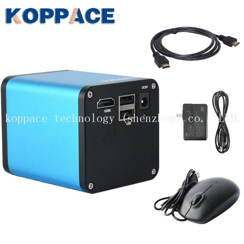 KOPPACE Autofocus microscope camera 1080P 60F S HDMI autofocus microscope industrial camera photograph video U disk