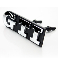 Wholesale Front Grille Metal GTI Emblem Car Body Tail Badge Sticker For Volkswagen VW Polo Golf
