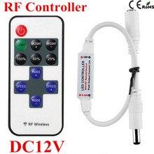 Одного диммер беспроводная контроллер пульт ленты дистанционного управления светодиодные цвета led