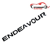 CITYCARAUTO 3D Car Styling 'ENDEAVOUR Front Engine Hood Logo 3D Emblem Sticker Fit for FORD ENDEAVOUR