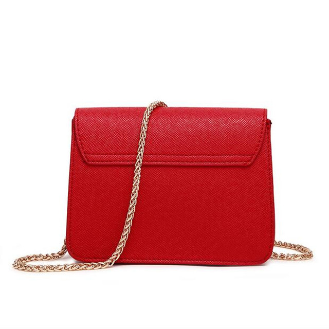 COOLWALKER designer brand bags women leather handbags Chain Solid Shoulder Bag mini bags Woman Messenger Bag purses and handbags