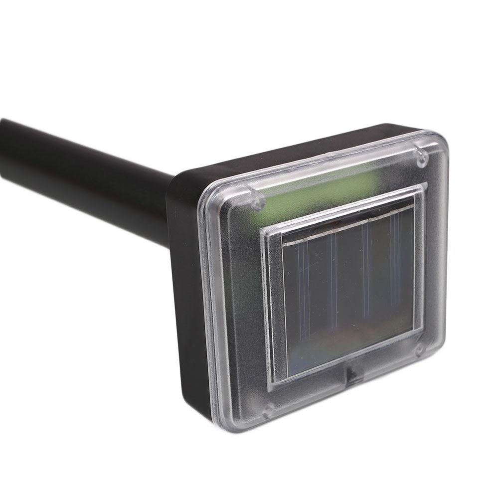 Günəş siçan Mole Repeller Ultrasonik Elektron ilan Tarakan - Bağ üçün - Fotoqrafiya 2