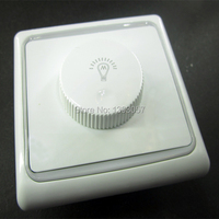 2pcs 600w scr ac 220v led dimmers for dimmable ceiling lights led tube led bubls brightness controller