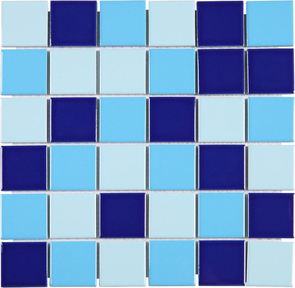 Blue Pool Tiles Bathroom Wall 2 X2 Mosaic Tcy4818