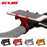 GUB 5 Colors Universal Bike Phone Stand Aluminum Bicycle Handlebar Mount Holder For iPhone Samsung Honor Cycling Accessories
