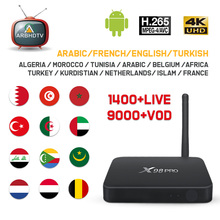 IPTV France Arabic X98 Pro 1 month Free IP TV Turkey Belgium Subscription Android Box Kurdistan Islam Algeria 4K