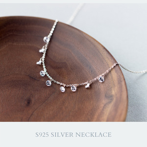 Real. 925 Sterling Silver Round crystals
