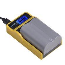 Batterie de remplacement pour appareil photo, avec chargeur LCD USB, pour Nikon D70 D70S D80 D90 D100 D200 D300 D300S D700