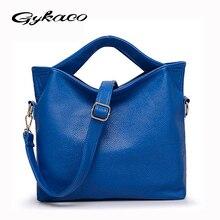 Gykaeo Fashion Women Handbag PU Leather Shoulder Bags Women Messenger Bags Handbags Women Famous Brand Tote Bag Ladies Bolsos