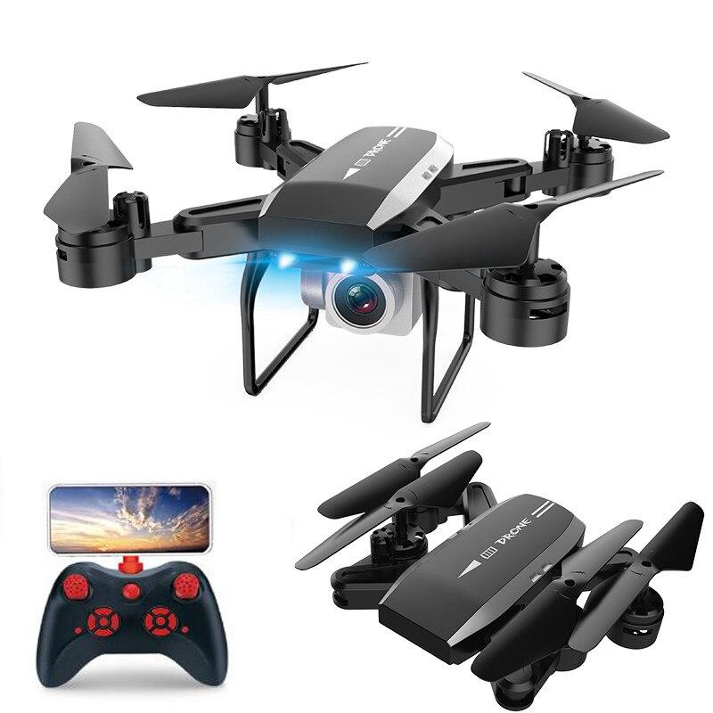 New professional Com 4 K HD Câmera Wi-fi RC Drone Quadcopter Dobrável longo tempo voar fpv 1600 W câmera Helicóptero VS ky601s zangão