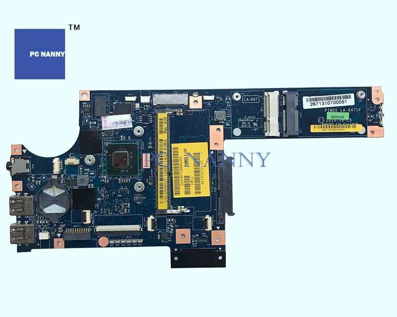 PCNANNY Mainboard 566G7 0566G7 PIM00 LA 6471P for Dell Mini Duo 1090 N570 Laptop motherboard