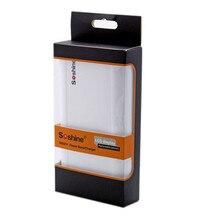 Soshine E3 Портативный Банк силы для Мобильного DIY Емкость 18650 Корпус Батареи ЖК Напряжение Ток Дисплей/2A Max Powerbank зарядное устройство