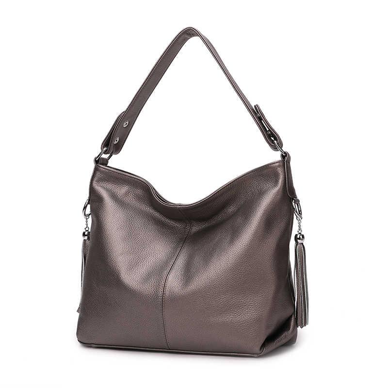 8afd5e944a70 ... ZENCY 100% натуральная кожа женская сумка первый слой коровья кожа  длинная ручка сумка через плечо ...