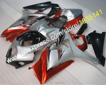 For Suzuki GSX-R1000 K7 07 08 GSXR1000 GSX R1000 GSXR 2007 2008 popular motorbike body Fairing kit (Injection molding)