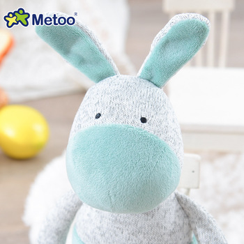 Мягкая плюшевая игрушка ослик Metoo 4
