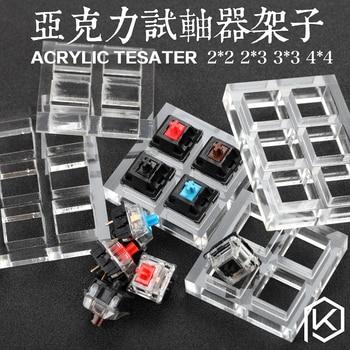 Acryl Schakelaar Tester 2X2 2X3 3X3 4X4 7X7 9X9 voor cherry mx switches