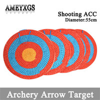 55cm Diameter Archery Grass Target Straw Arrows Darts Shooting Practice Targets Boards For Outdoor Sports Hunting Accessories