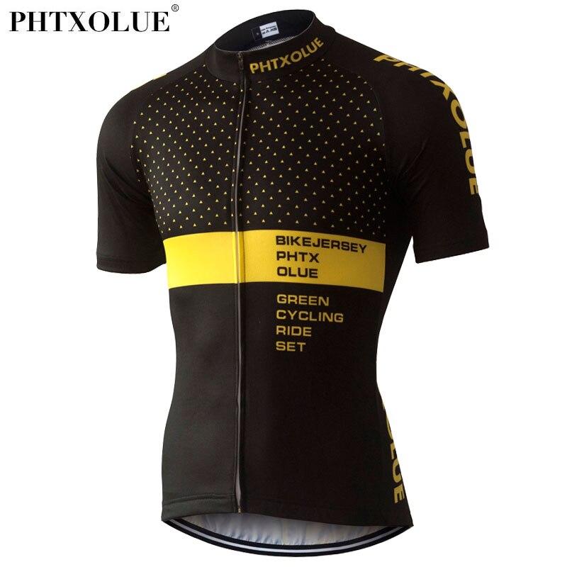 Prix pour 2017 Phtxolue D'été Maillots de Cyclisme Vélo Vêtements Hommes/Maillot Ciclismo/Vélo De Montagne Porter Homme Cyclisme Vêtements