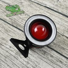 Universal Vintage retro Motorcycle custom day light Brake light Super Bright Rear Light  Round LED Rear tail light